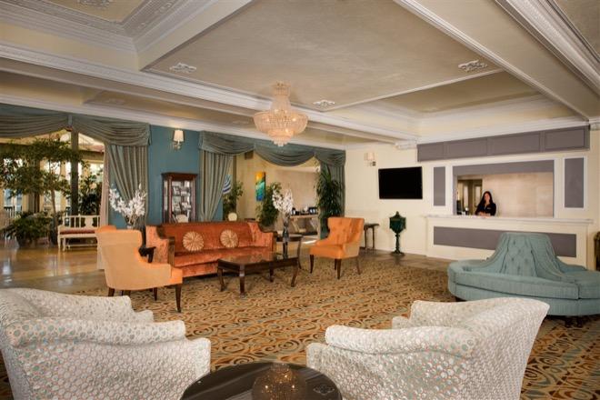 Lafayette Hotel San Diego Historic Lobby