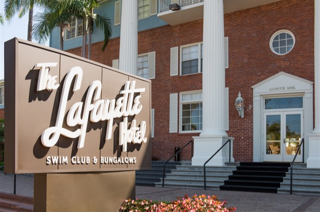 Lafayette Hotel & Swim Club Exterior