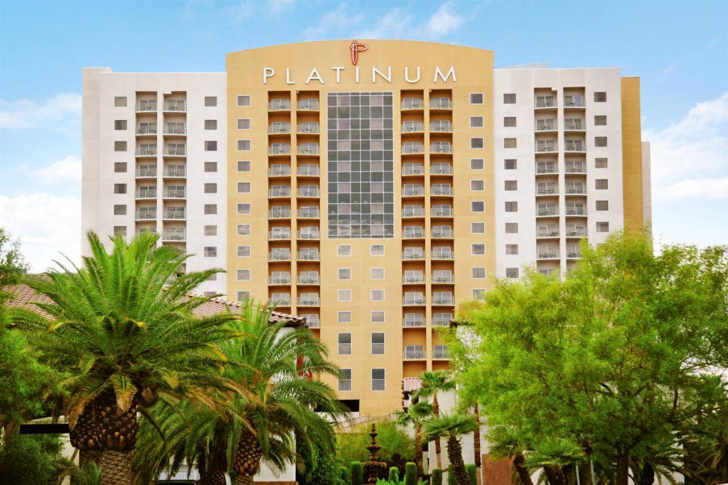Front View of Platinum Hotel Exterior