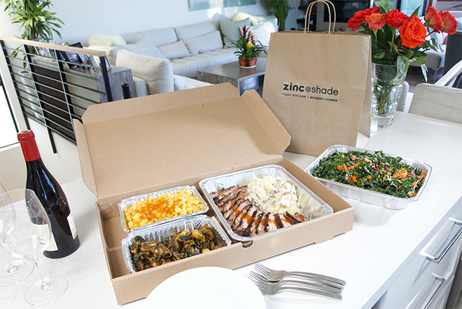 zinc@shade New Takeout offerings