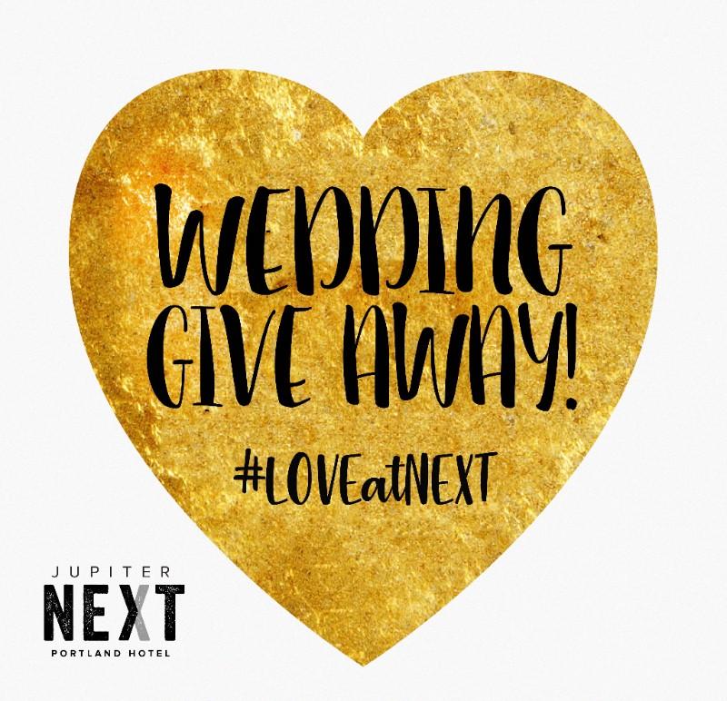 Jupiter NEXT Wedding Giveaway Promotion