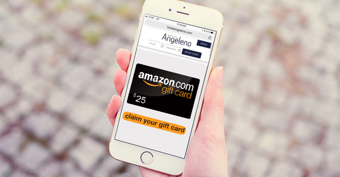 Hotel Angeleno Amazon Gift Card