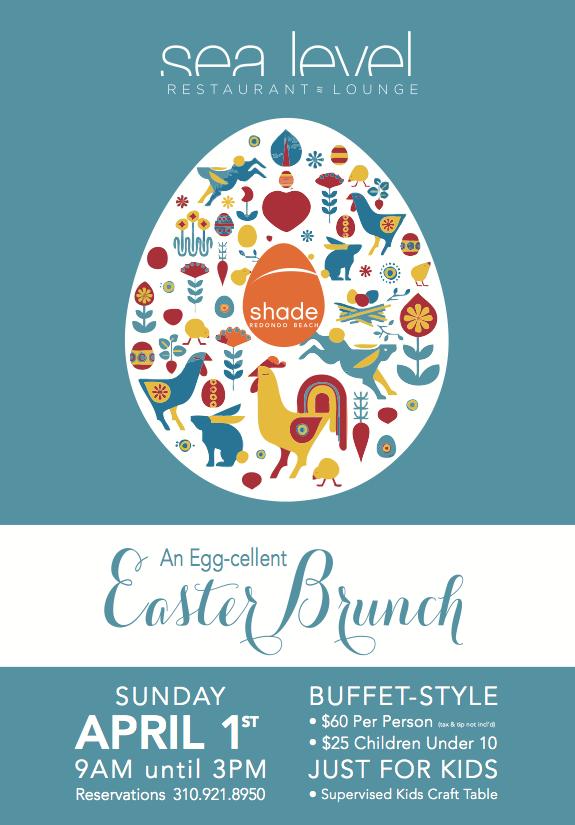 Shade Redondo Beach Easter Brunch