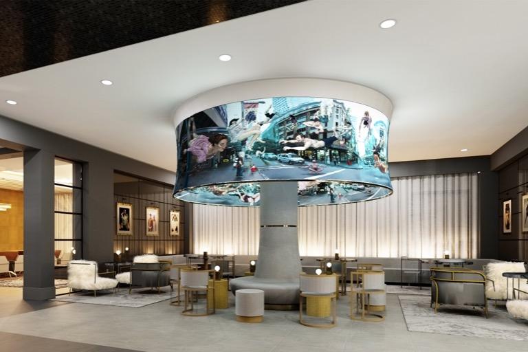Angad Arts Hotel Lobby