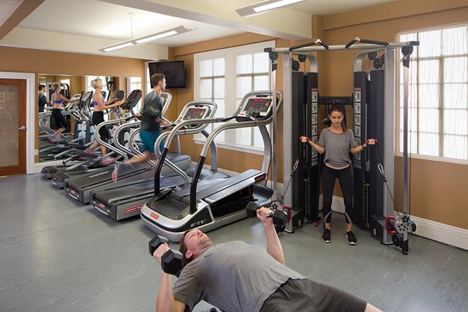 The Sofia Hotel San Diego Fitness Room