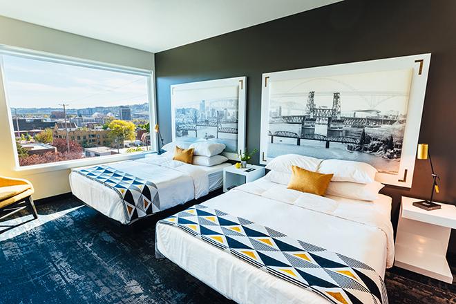 Jupiter Next Portland OR hotel rooms