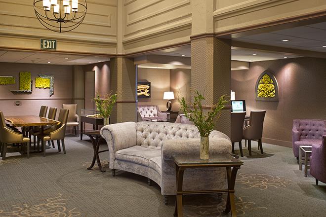 The Sofia Hotel San Diego Lobby