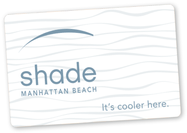 Shade Hotel Manhattan Beach Gift Card