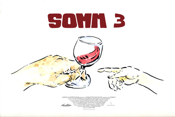 SOMM Wine Preview Poster