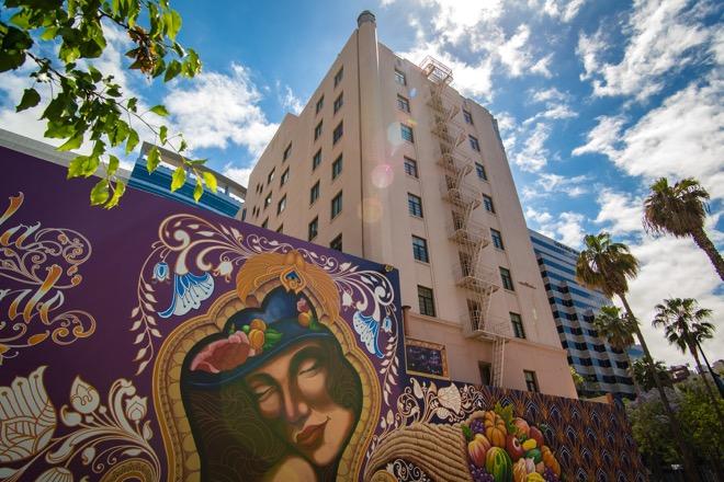 Hotel De Anza Exterior Facade