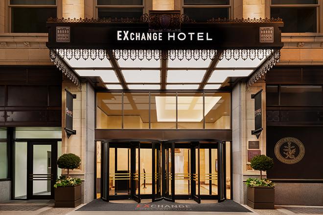 EXchange Hotel Vancouver Exterior