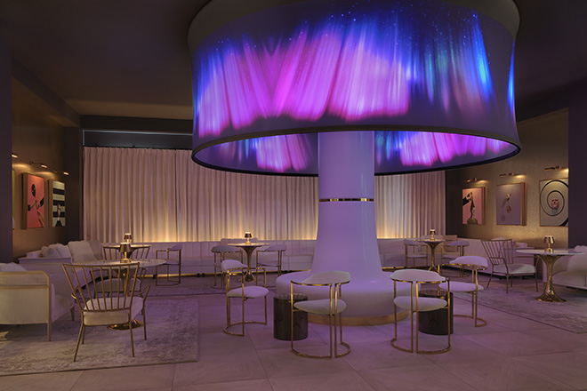 Angad Arts Hotel Lobby Light Shaft Theme