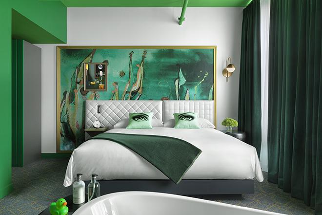 Angad Arts Hotel Rejuvination Room