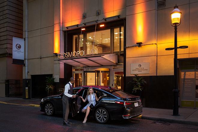 Executive Hotel Cosmopolitan Exterior