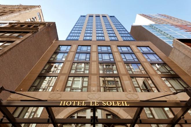 Executive Hotel Le Soleil Exterior