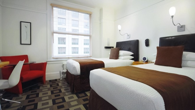 The Mosser Hotel San Francisco Two Twin Bed Room