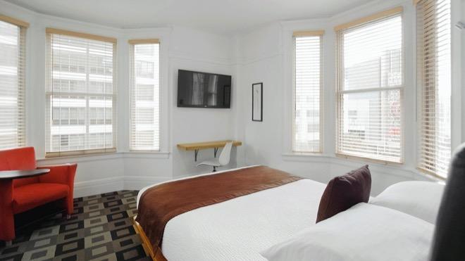The Mosser Hotel San Francisco Deluxe Queen Room