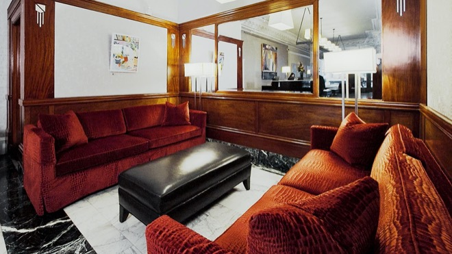 The Mosser Hotel San Francisco Lobby