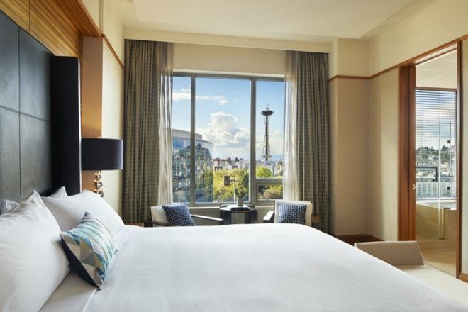 Pan Pacific Seattle Guestroom with a View
