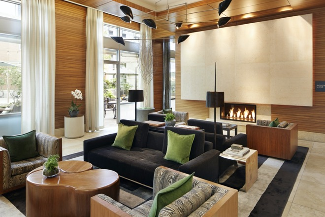 Pan Pacific Seattle Lobby