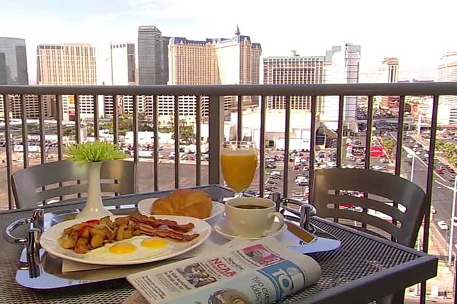 Platinum Hotel Las Vegas Views