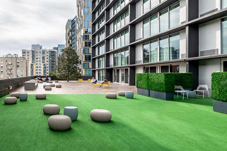 Flexible Rooftop spaces at BEI Hotel San Francisco
